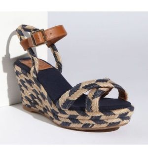 Tory Burch Camelia Mid Wedge Espadrilles